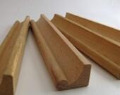 Four Vintage Wood Scrabble Tile Holders