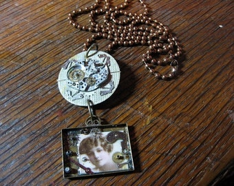 Her Glory Steampunk Necklace