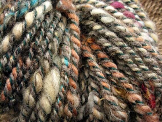 Tweedy Couch-3 Ply Handspun Yarn