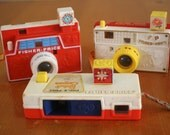 Vintage Fisher Price Toy cameras