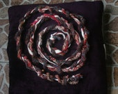 Umbilical cord art-scarf