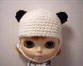 Panda Helmet for Blythe