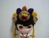 Turkey Hat for Blythe