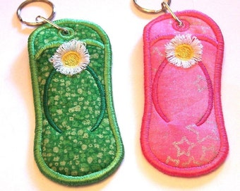 Flipflop - Key Chain Lip Balm, USB Drive or Lighter Holder
