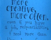 How to Be More Creative, More Often - Creativity Zine and Guide