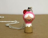 Strawberry Plini Doll Necklace