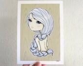Blue -  5x7 Art Print