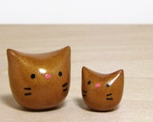 Lucky Gold Pocket Kitty Duo