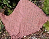 Horse Shoe Lace Shawl - Knitting Pattern