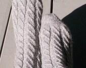 Twilled Stripes Socks Knitting Pattern