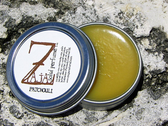 Natural Solid Perfume - Patchouli by ZAJA Natural