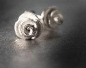 rosebud earrings