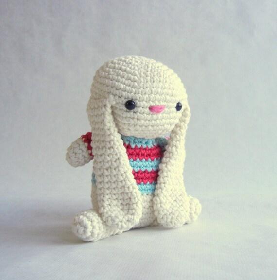 Organic Bunny Cotton Toy Eco Stuffing