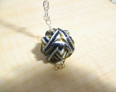 Origami Ball Necklace - for Rebekah