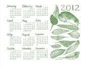 2012 Tea Towel Cloth Calendar