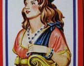 americana playing card