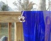 Citrine & Garnet Flower Earrings