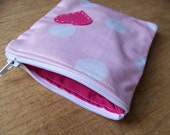 SALE Love heart coin purse