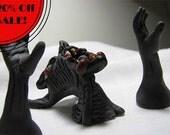 Halloween Desk Monster- Handmade Demonic pen holder
