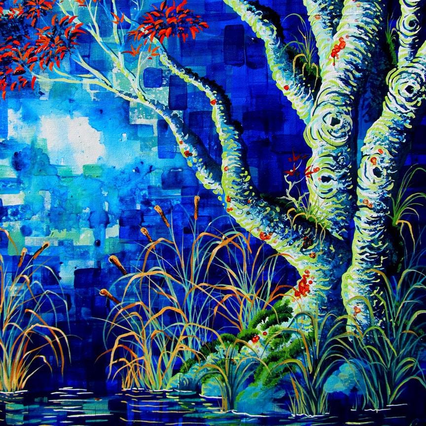 Fantasy Art Landscapes Water Water Swamp Landscape Art