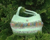 Felted Thoughts of Spring Purse