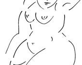 BARE NAKED LADIES SERIES no 16 - SIGNED LE Print