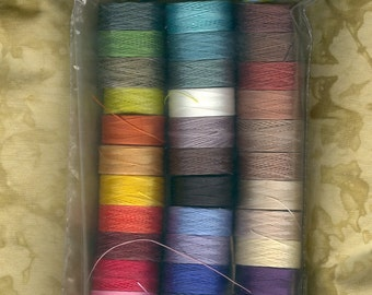 C-LON Beading Thread Pack - Size D Thread - All 36 Colors