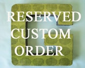 Kba08 Custom Order  Letter B