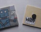 Robot Needs Friends Magnet
