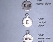 Reserved for SB-  Metal brand label tags for your jewelry, crafts -  7mm Antiqued Silver plated brass with loop-  300 pcs