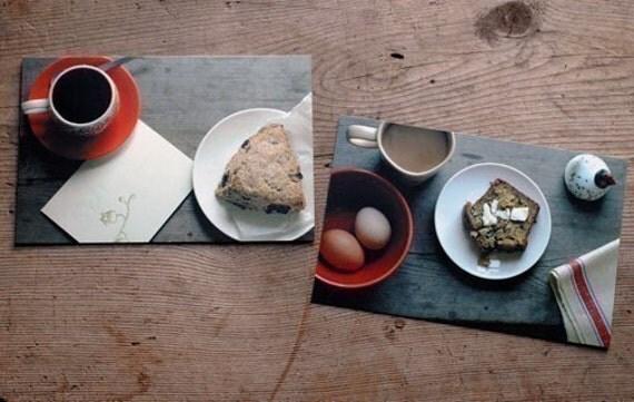 My Breakfast Cards-set of 5