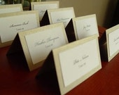 71 Escort Cards and one table sign- custom listing for Lisa