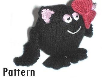 PDF Pattern - Phoebe the Fat Bat - Knitting (and Crochet)