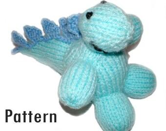 PDF Pattern - Dorothy Stegosaurus - Knitting and Crochet
