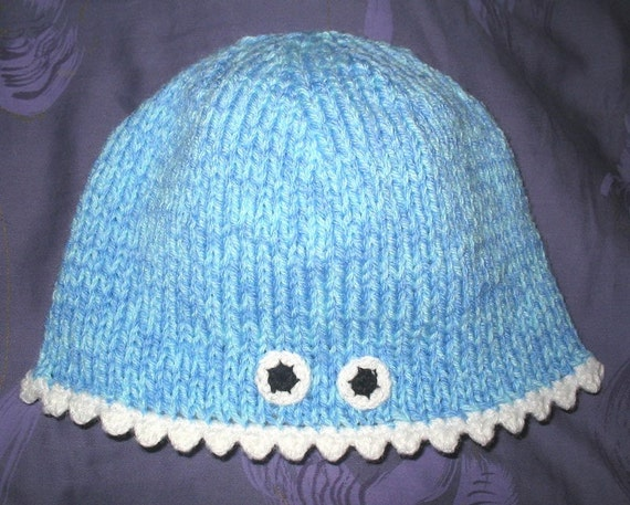 Knitted Monster Hat Toddler