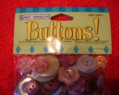 Daisy Kingdom 50 Button Package