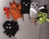 5 Halloween Finger Puppets