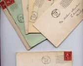 46 vintage letters