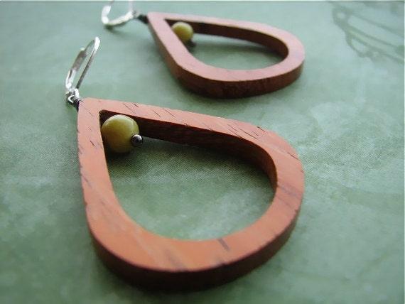 Bayong Teardrop Earrings