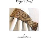 Peyote Pattern - Scrolls Peyote Cuff / Bracelet - A Sand Fibers For Personal Use Only PDF Pattern - 3 for 2 Savings Program