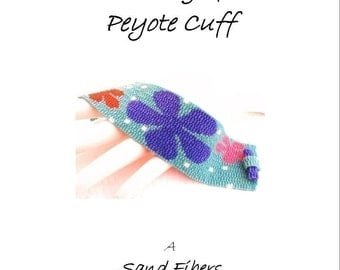 3 for 2 Program - The Dating Game Peyote Cuff - For Personal Use Only PDF Pattern