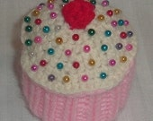 Strawberry Cupcake Pincushion