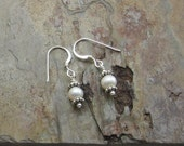 Purity Earrings - Freshwater Pearl