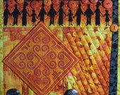 All Together Now ART QUILT Hmong Applique