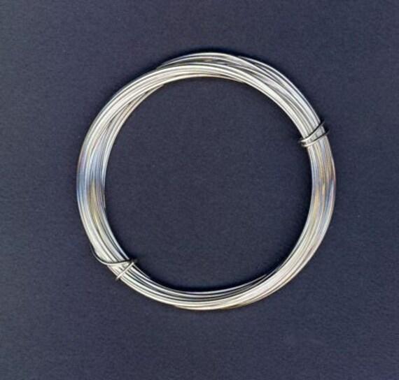European silver plated craft wire 22 gauge 12 feet for 22 gauge craft wire