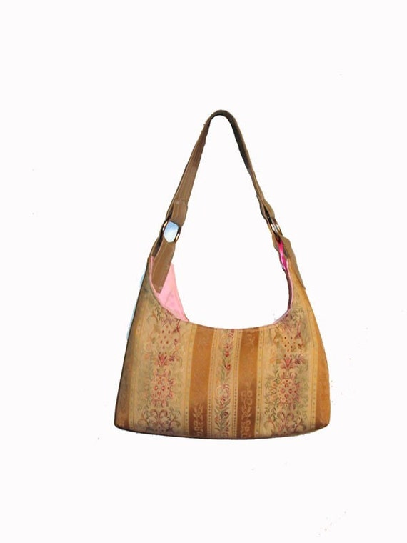 SALE FRENCH TAPESTRY BAG