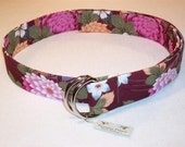 Japanese Cotton Fabric Belt Size Medium