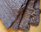 Fibres  - Two sheets of Ridged Handmade Paper