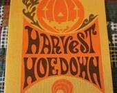 Harvest Hoedown - Vintage Cookbook