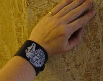Leather Wrist Strap - SJ Tucker's Lost Girls Pirate Academy